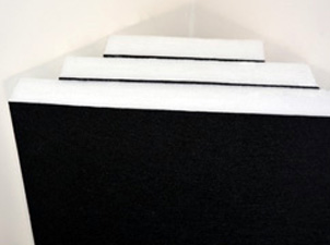 Polyester acoustic panels for New  Zealand studios & home theatres